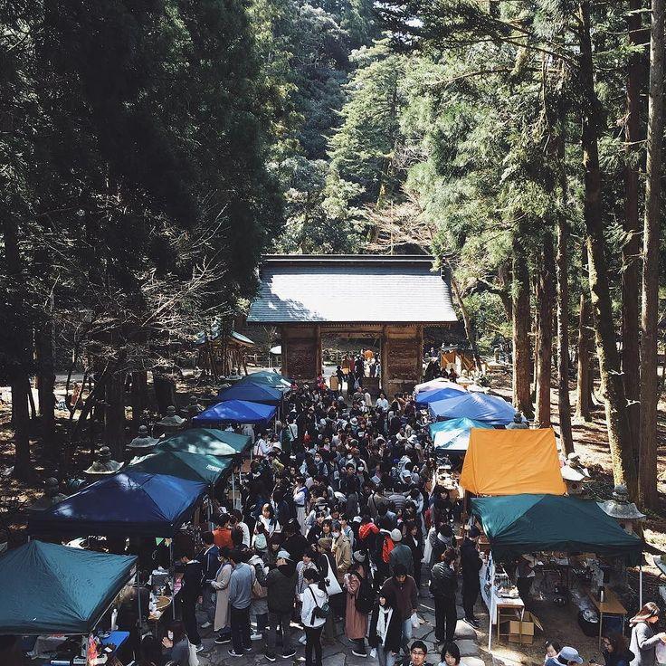 とっとり春のパン祭り今年も会場の写真をコロッケとお花とパン珈琲を購入しました賑わいが緩やかでのんびりで良かったです #vscocam #vscom #vscogram #春 #パン祭り #local #nature #naturelovers #樗谷神社 #鳥取