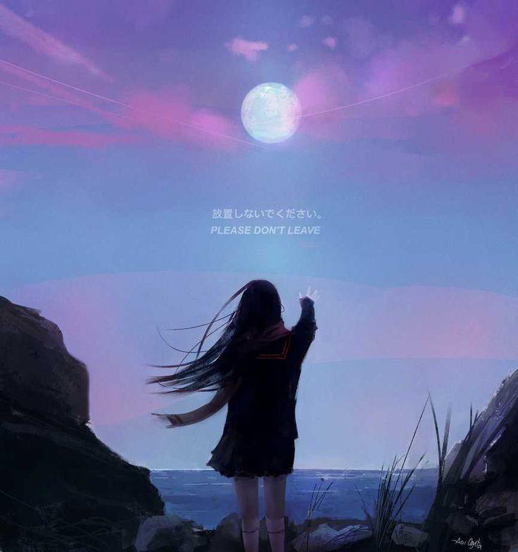 Realistic Anime Digital Paintings by Aoi Ogata