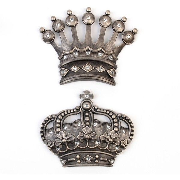 King And Queen Crown Home Decor