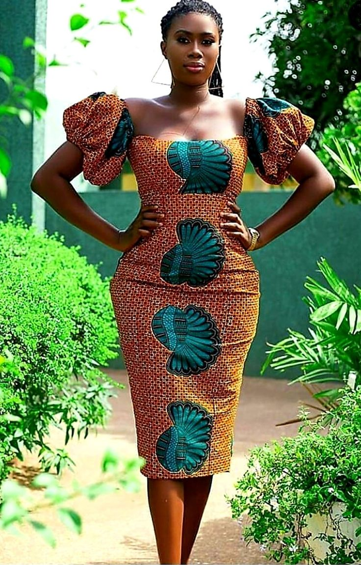 ROBES AFRICAINES De ETE | Robe africaine, Mode africaine ...