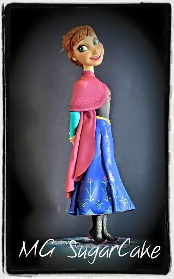 Anna Frozen  by MG SugarCake