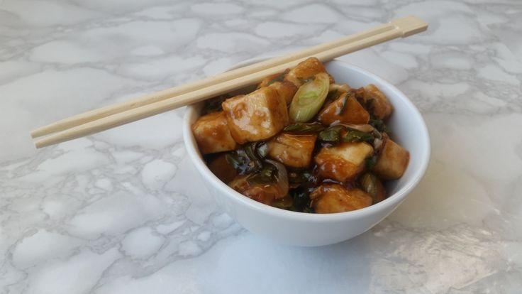 Tofu del general tso