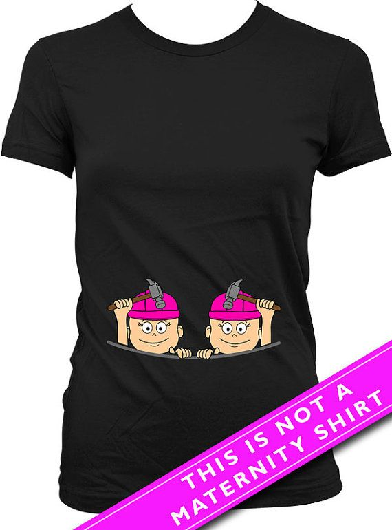 For entire collection of Twin Peeking Baby Shirts: https://www.etsy.com/ca/shop/Materniteees?section_id=17746105&ref=shopsection_leftnav_4  Pregnancy Reveal Baby Twins Construction Worker T Shirt  Welcome to Materniteees, pregnancy clothing made fun! ▄▄▄▄▄▄▄▄▄▄▄▄▄▄▄▄▄▄▄▄▄▄▄▄▄▄▄▄▄▄▄▄▄▄▄▄▄▄▄▄▄▄▄▄▄▄▄▄▄▄▄ COUPON CODES: Here is our way of saying thanks!  BUY 3 ITEMS GET 1 FREE (apply the coupon code 1FREE at checkout) BUY 6 ITEMS GET 2 FREE (apply the coupon code 2FREE at checkout) BUY 9 ITEMS…