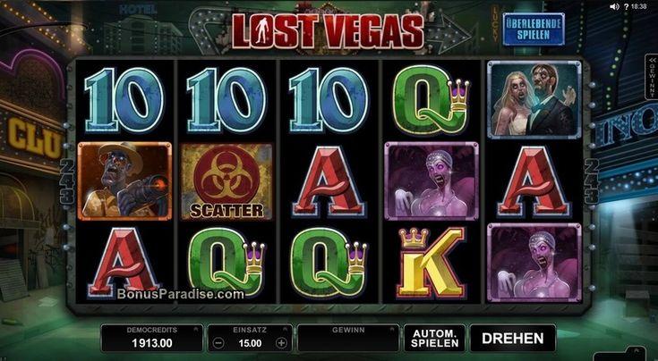Lost Vegas #OnlineSlot von #Microgaming #243ways