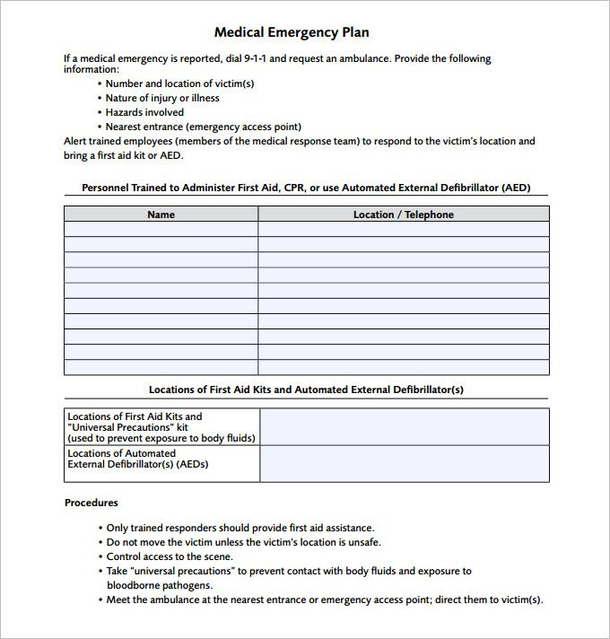 Best 25 emergency action plans ideas on pinterest for Incident response procedure template