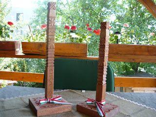 Háromszéki fafaragás Kopjafák