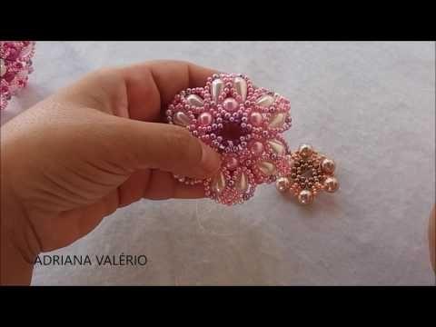 Como fazer: Max - flor de gotas - Adriana Valério - YouTube