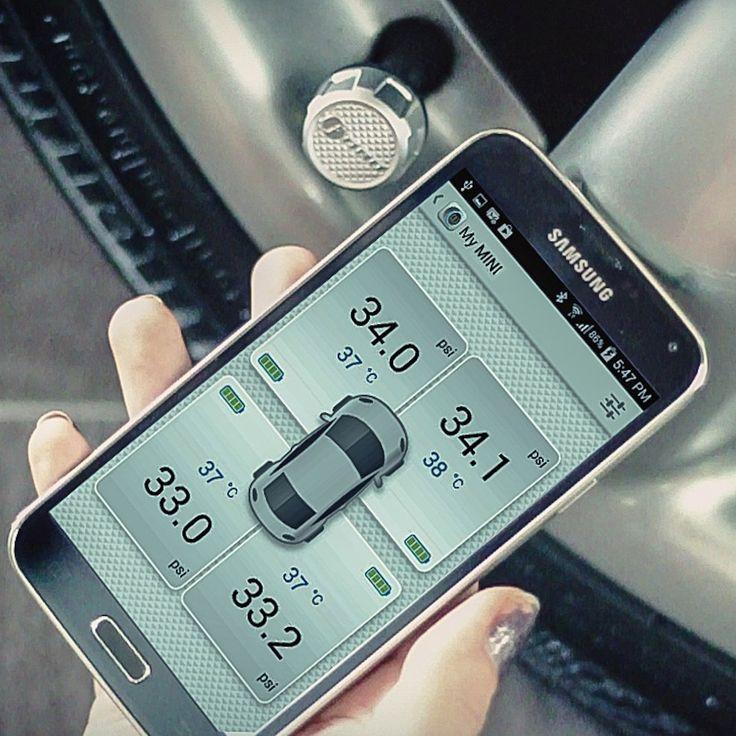 FOBO Bluetooth Tire Pressure Monitoring System #AppControlled, #Car, #Design, #Monitore, #Tire