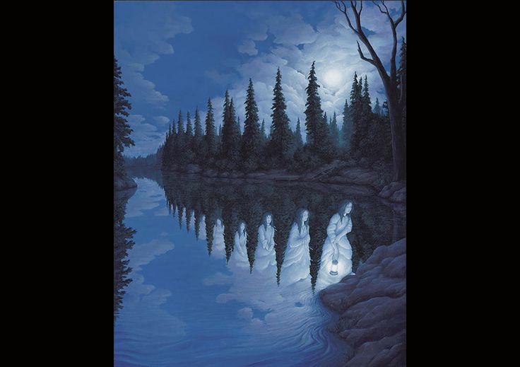 Ilusiones ópticas en pintura que te dejarán alucinado