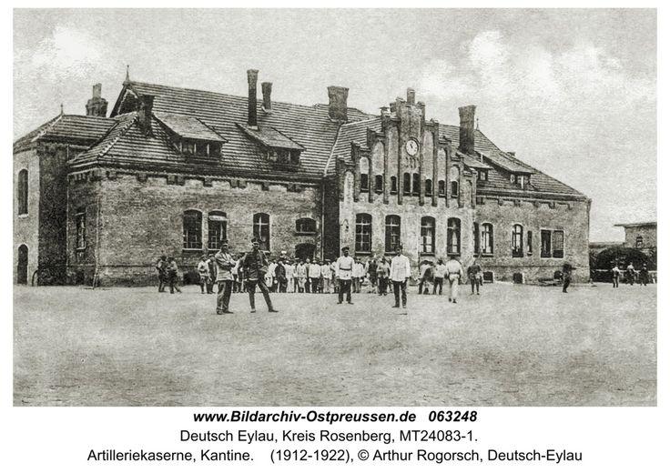 Deutsch Eylau, Artilleriekaserne, Kantine