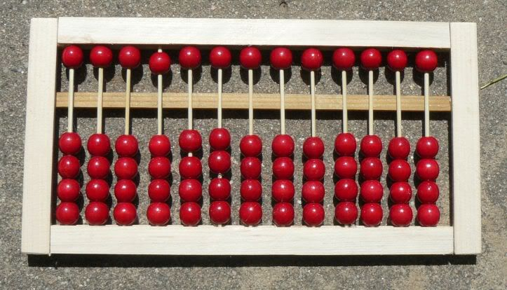 model of abacus how to make