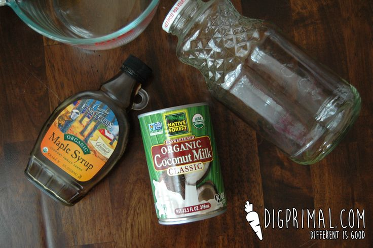 Coconut Milk recipe that tastes like the real thing. Perfect for transitioning kids!