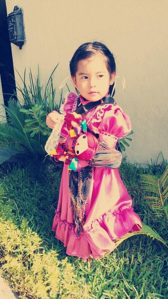 Disfraz infantil de Adelita
