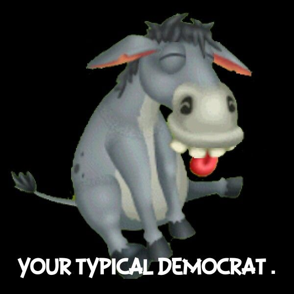 Image result for democrats act like jackasses cartoon