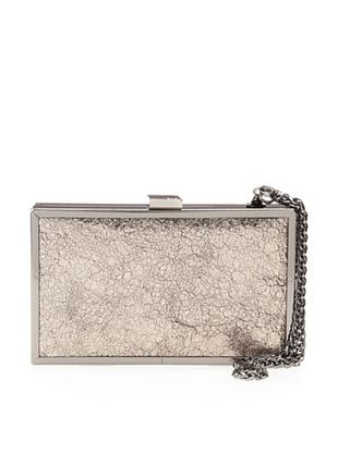Halston Heritage Women's Box Minaudiere (Pewter Crackle)