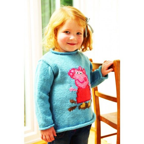 Peppa Pig Sweater Knitting Pattern Knitting Patterns Pinterest D, A wel...