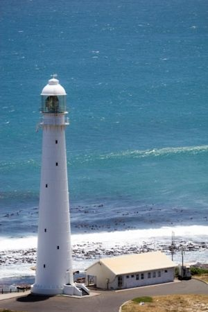 Slangkop Lighthouse, near Cape Town, South Africa