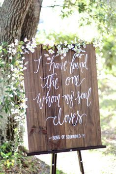 I Have Found The One Whom My Soul Loves Sign Song Of Solomon Ready To Ship Rustic Wedding Signs Verse Farmhouse Decor