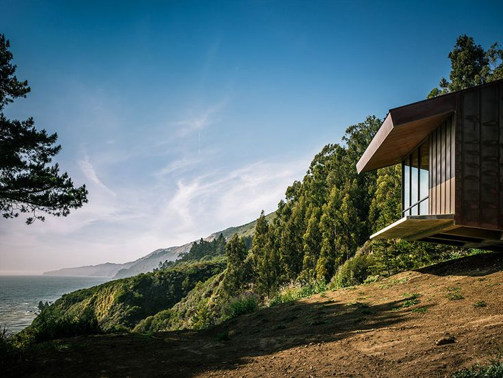 Architecture, Fall House Ideas By Fougeron Architecture Circular Trees And  Nature Atmosphere With Panoramic View