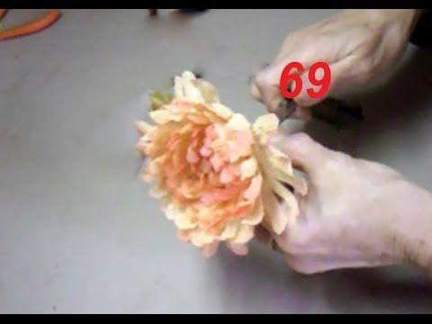 AULA 69: CRISÂTEMO PARA ROUPAS DE FESTAS (com tingimento)