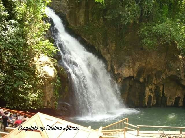 This is Tiklas Waterfalls in Gingoog City in the Philippines . The Waterfalls is not actually in the city but in the forest nearby.Tiklas Waterfalls is now one of the tourist attractions in the south of the Philippines, in the island of Mindanao.Though this waterfalls is in the middle of the forest, it is already cultivated and there's a swimming pool at the falls where the kids and adults can enjoy.Families can enjoy their time together as there are places where one c...