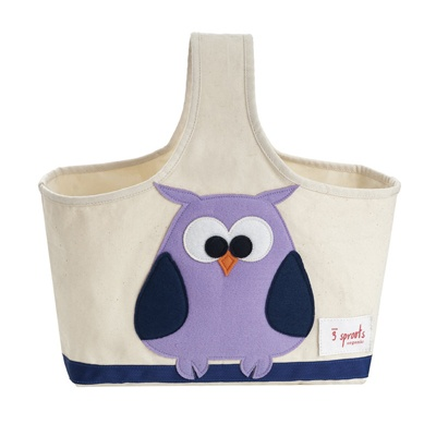 Owl toy/crafty caddy by 3 Sprouts