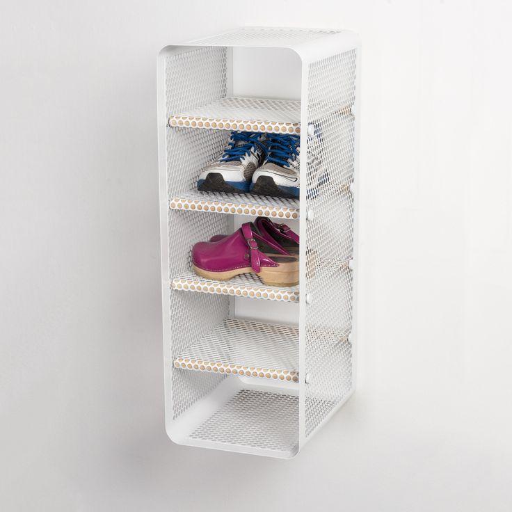 Shoe rack white