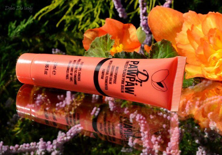 Dr. PAWPAW uniwersalne produkty do ust, skory, paznokci i włosów -  Pink Balm