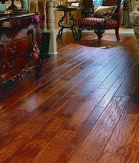 Cinnamon Oak Vintage Distressed Hardwood Flooring