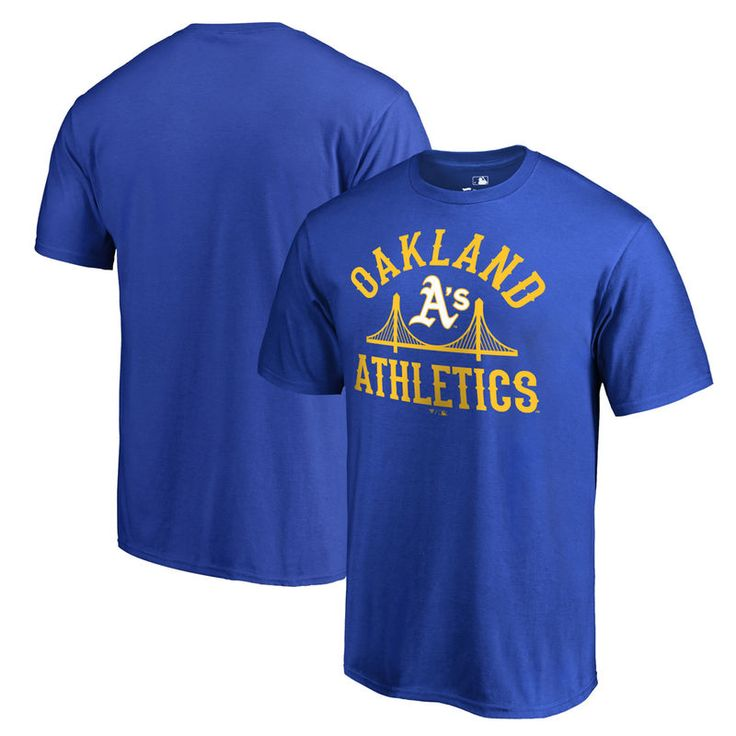 Oakland Athletics Fanatics Branded Bay Area Unite Big & Tall T-Shirt - Blue