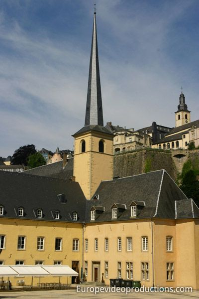 Abtei Neumünster – Kulturzentrum von Luxemburg-Stadt