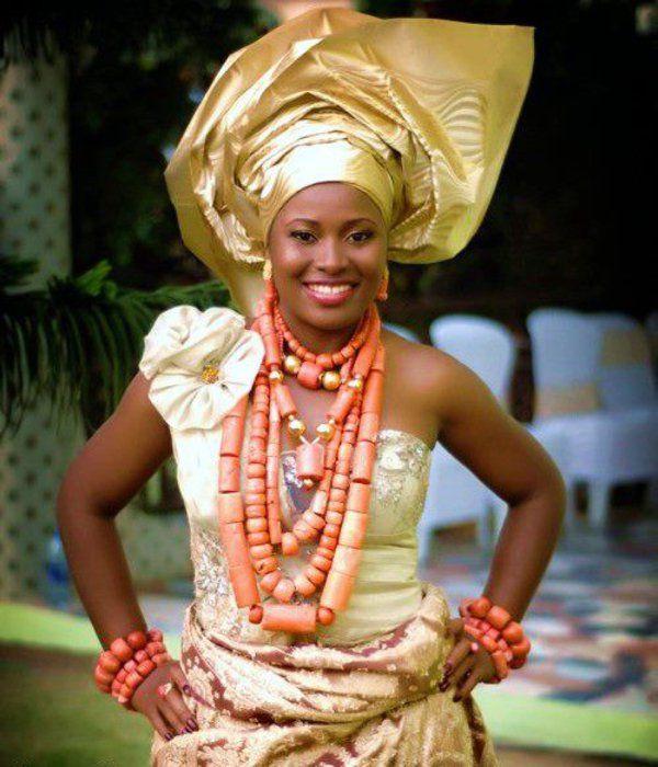 igbo-wedding-traditional-nigerian_0017    Gold Dress!!