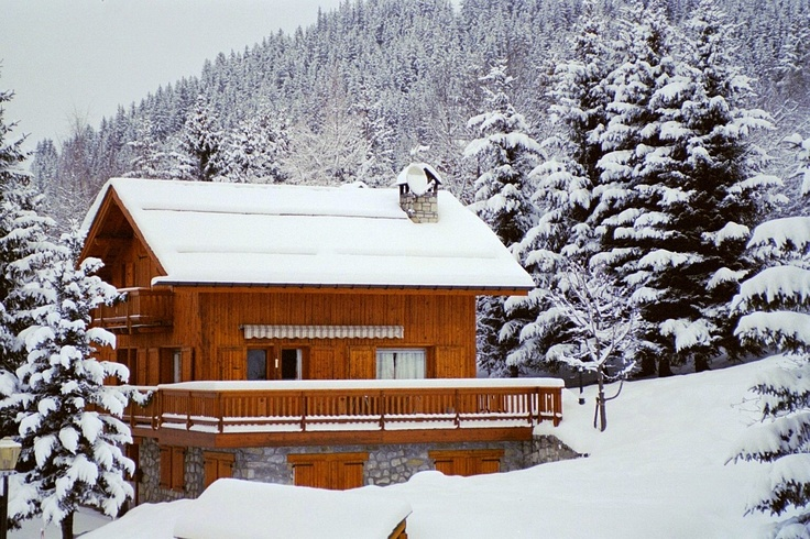 House in Meribel, France.