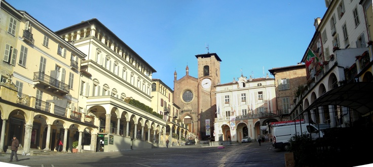 our favorite square in Moncalieri