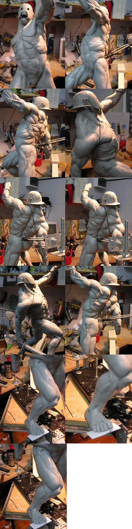 All This Works was Made By Martin Canale and Gore Group to Sideshow Collectibles: Hi Again I like to show the Sideshow's Berzerker Wips. This was a very, very cool project to work, And thanks To To...