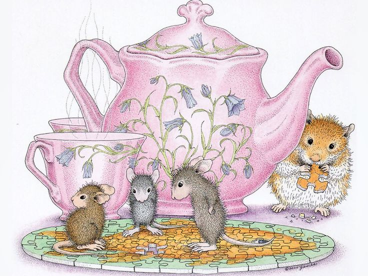 House mouse art