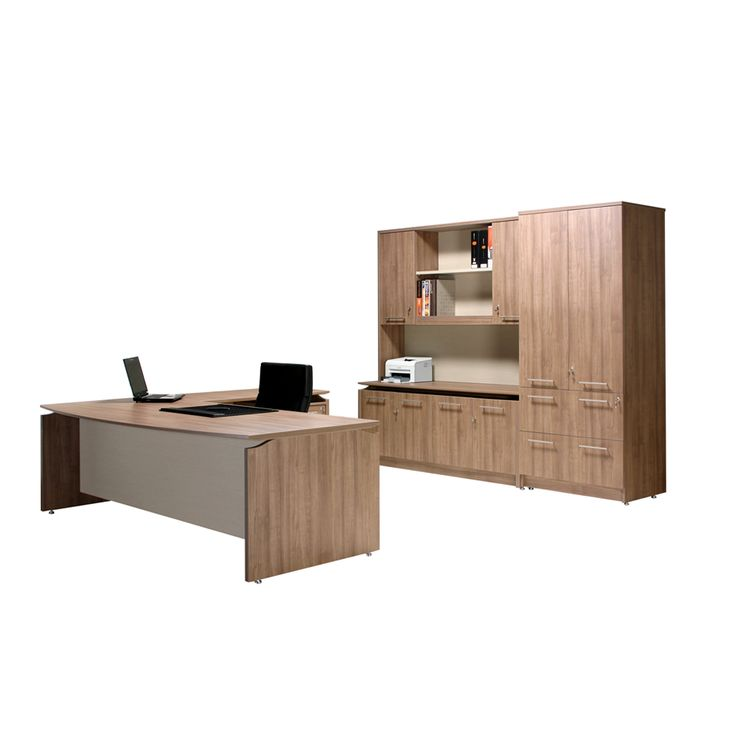V3 Executive Bow Front Office Desk 2400mm