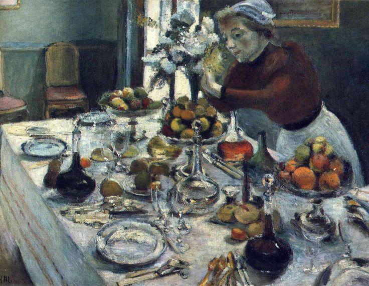 Henri Matisse - The Dinner Table, 1896/97