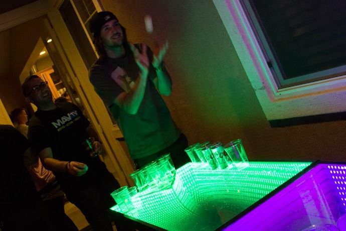 Infinity Beer Pong Table | Man of Many