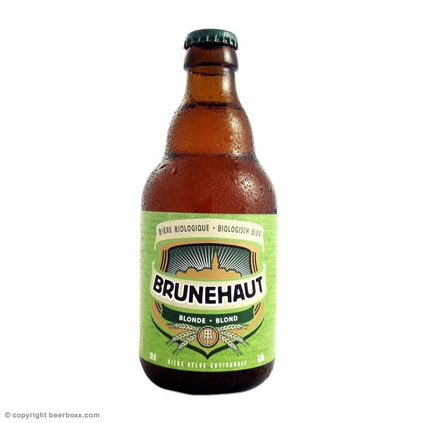 Wheat free beer to try  Brunehaut Bio Blonde 33cl