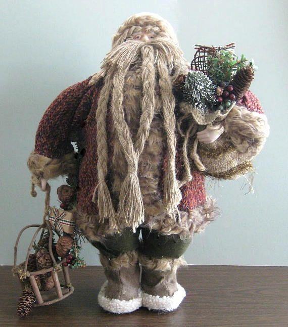 Christmas Santa Doll 24 Santa Claus Doll Collectible