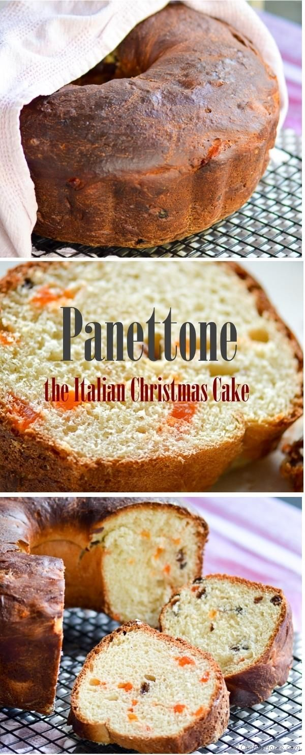 Festive and Rich #Christmas #Panettone #Cake