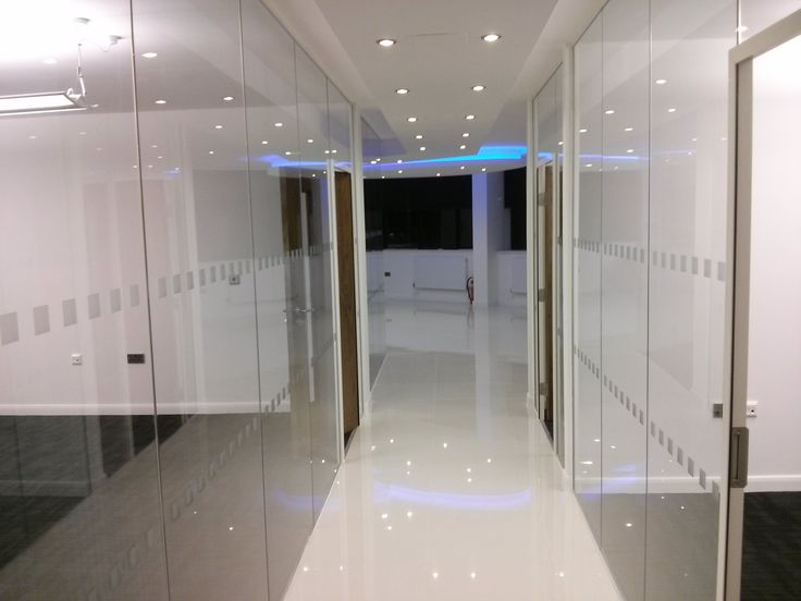 One of our proudest #renovations to date #glass #flooring #ceiling #lights #spacious #clean #crisp. We can do the same for your #business - and we still have space in the building for you. Come and view #derby #sitwellhouse #derbyshire #view