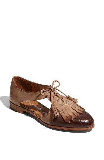 Oxfords with some surprising cutouts!
