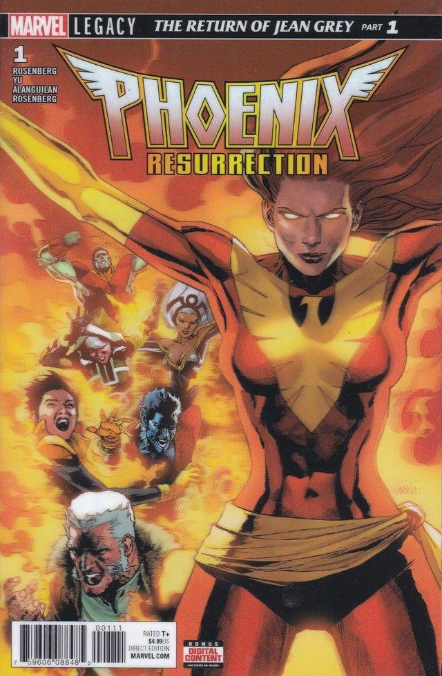 Phoenix Resurrection The Return Of Jean Grey 1 Marvel Comics Lenticular Cover In 2020 Jean Grey Comics For Sale X Men