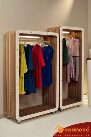 Lessmore design - Mobili in cartone e arredi sostenibili... www.lessmore.it