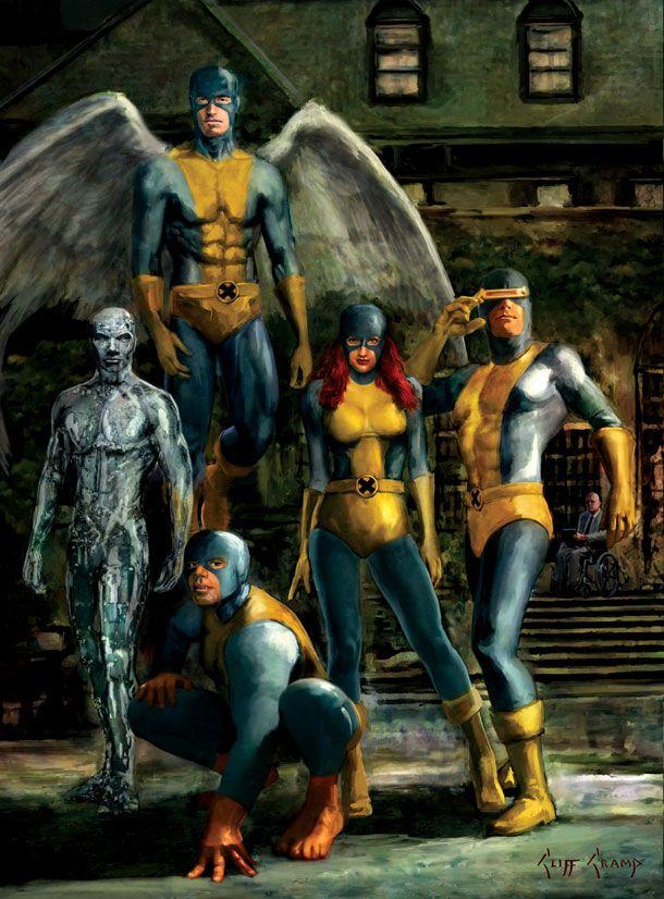 X-Men by Cliff Cramp
