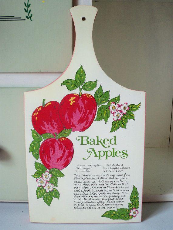 869 best apple kitchen ideas images on pinterest for Apple kitchen ideas