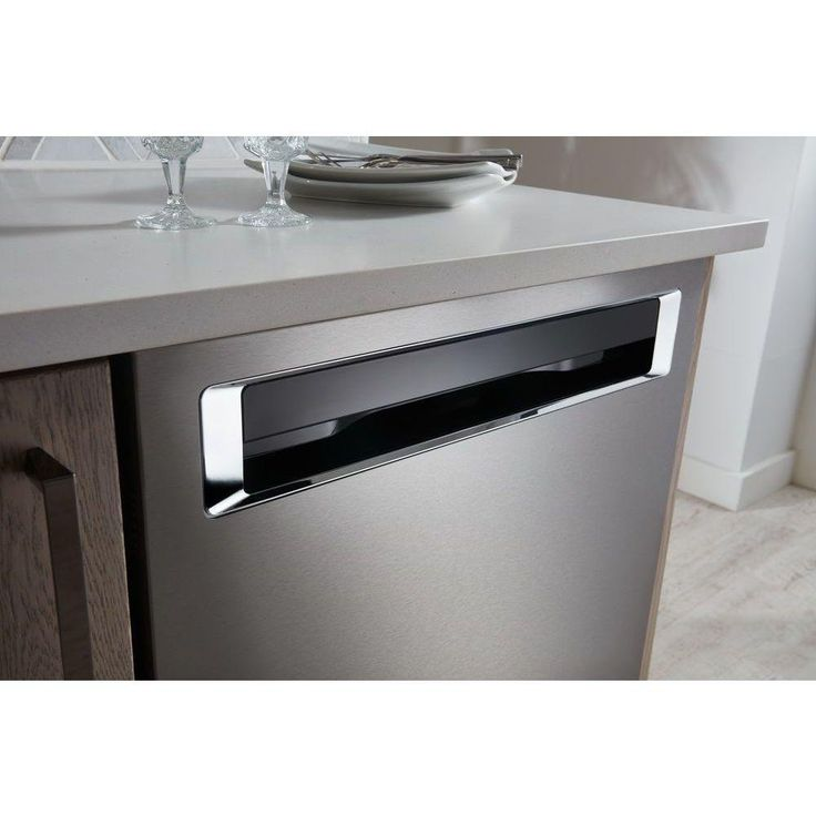 KitchenAid Dishwasher with Recessed Handle Stainless