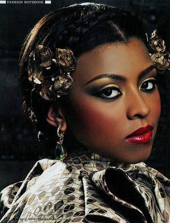 My Beauty Shoot ;Concept: African Baroque